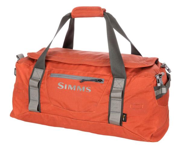 Simms GTS Gear Duffel 50L simms orange