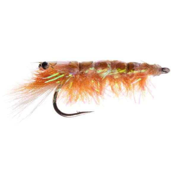 Kami Flies Sea Trout Fly - Crystal Shrimp orange